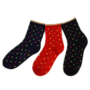 27 Packs (81 pairs) Assorted Ladies Socks - 3PKS-WCS-ASST