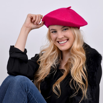 12pc Pack Ladies Wool Beret WH4010