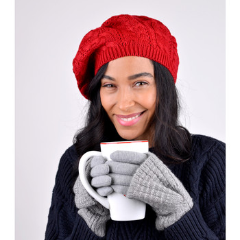 Ladies Knitted Beret Hat - WH5010