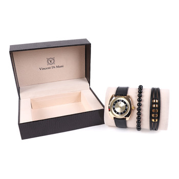 Men's Watch & Bracelet Gift Set - MWBB1018-7