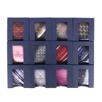 12pcs Random Assorted 100% Silk Tie Sets- 12SWASST-BX