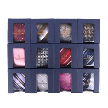 12pcs Random Assorted 100% Silk Tie Sets- 12SWASST-BX