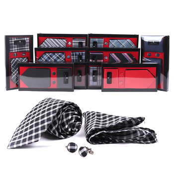 24pcs Assorted Necktie, Hanky and Cufflink Sets - THCB-24ASST