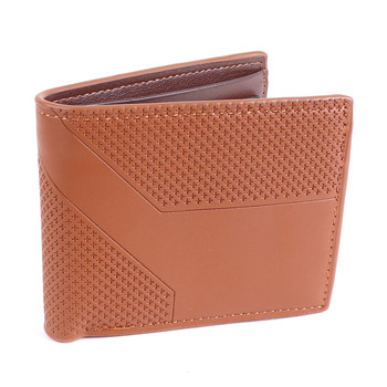 Men's Bi-Fold Brown Leather Wallet - MLW5205