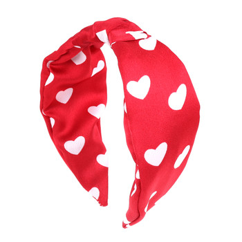 "Red Heart  ""C"" Shaped Head Band - PHB1010-RD"