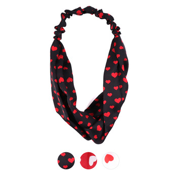 Criss Cross Heart Headband- EHB1010