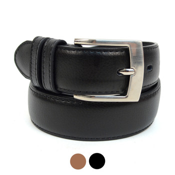 Genuine Leather Men's Dressy  Belt - MGLD18061
