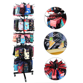 Mix Novelty Socks Display Rack (items included) - ST-HTR1-NVS