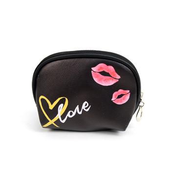 Ladies  Love Makeup Bag 3pc Set Cosmetic & Toiletry Bags - LNCTB1716