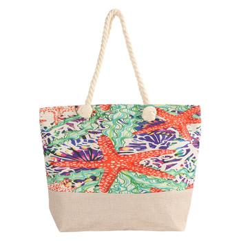 Starfish Beach Ladies Tote Bag - LTBG1222