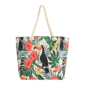 Toucan Tropical Summer Ladies Tote Bag -LTBG1229
