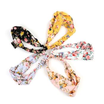 12pc Assorted Stretchy Floral Headband - 12EHB1023