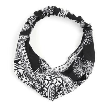 12pc Criss Cross Stretchy Headband - 12EHB1025