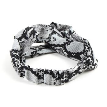2pc Snakeskin and Striped Headbands- 2EHB2001