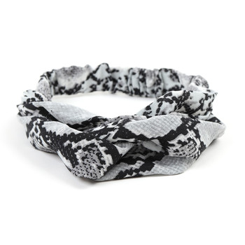2pc Snakeskin Print Headbands- 2EHB2002