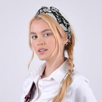 6pc Snakeskin Print Headbands- 2EHB2002