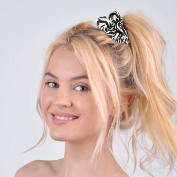 12pc Animal Print Hair Scrunchies
