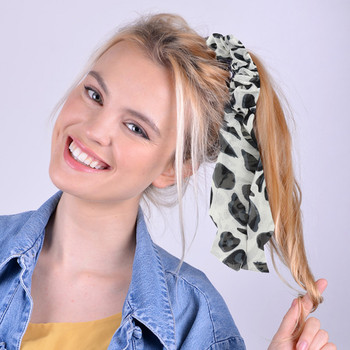 1pc Leopard Print Ribbon Hair Tie