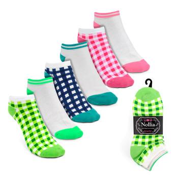 6pairs Women's Multicolor Low Cut Socks LN6S1622