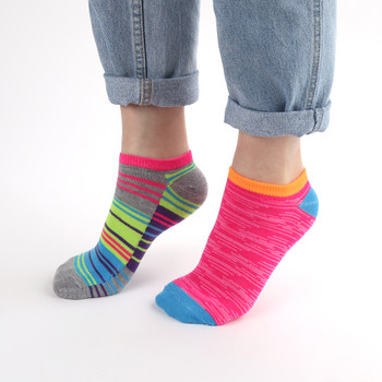 Assorted Pack (6 pairs) Women's Multicolor Low Cut Socks LN6S1626