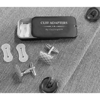Men's Cufflink Adaptors