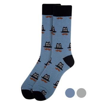 Men's Best Dad Novelty Socks - NVS1908