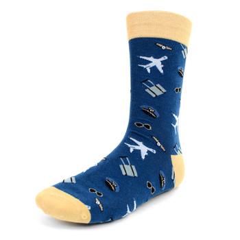 Men's Aviation Pilot Novelty Socks - NVS1924