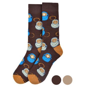 Men's Coffee Novelty Socks - NVS19550