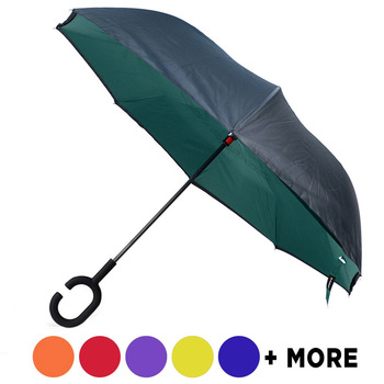Solid Color Double Layer Inverted Umbrella - UM18055