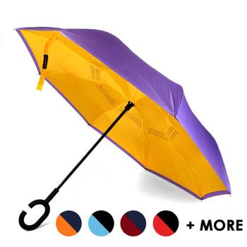 Double Layer School Pride Inverted Umbrella - UM18080
