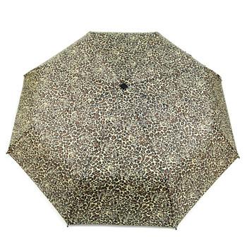 Animal Print Telescopic Compact Umbrella with Plastic Handle - UM5005