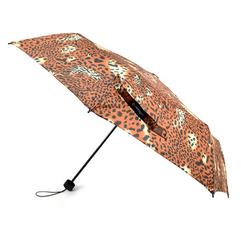 Animal Print Compact Umbrella with Plastic Handle - UM5006
