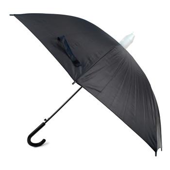 Auto Open Black Canopy Umbrella with Plastic Cover - UM5020