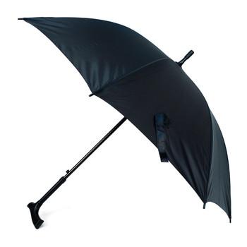 Black Canopy Walking Cane Umbrella-  UM5028