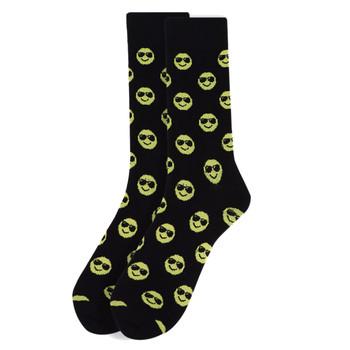 Men's Smiley Face Novelty Socks - NVS1802