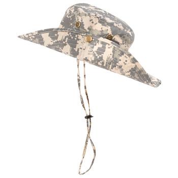 Wide Brim Camo Boonie Hats  - BHT1000-AR
