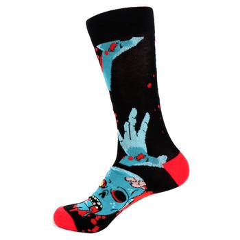 Men's Zombie Novelty Socks - NVS19512-BK