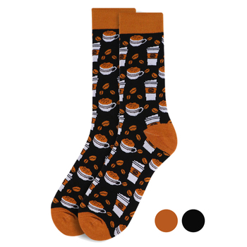 Men's Coffee Cups Novelty Socks NVS1752-53