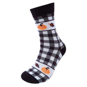 Women's Autumn Novelty Socks- LNVS19610-BK