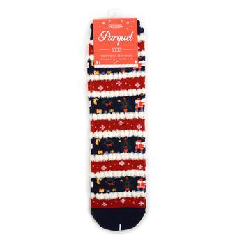 Ladies Christmas Holidays Crew Socks - LFXMS2