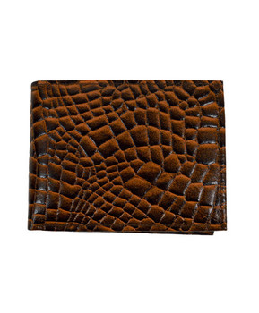 Bi-Fold Genuine Leather Wallet MLCR2446BR