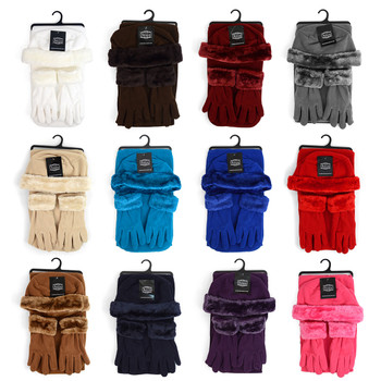 6pc Pack Women's Fleece Winter Set WSET60