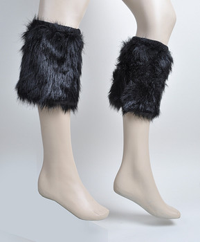 12pc Prepack Faux Fur Winter Leg Warmers - FLW1002