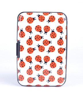 Card Guard Aluminum Compact Card Holder - Ladybug
