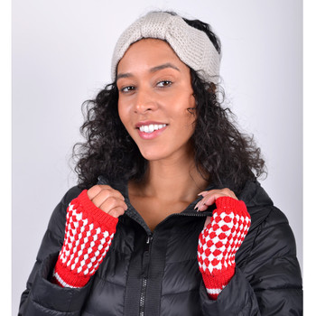 Women's Knit Fingerless Gloves GL1302