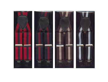 Assorted Clip Suspenders ACS3702