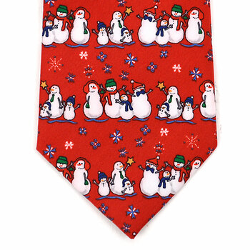 Boy's Christmas Tie BN4601-RD