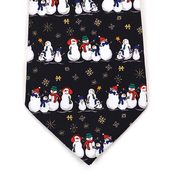 Boy's Christmas Tie BN4601-BK