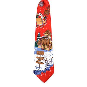 Boy's Christmas Tie BN4603-RD