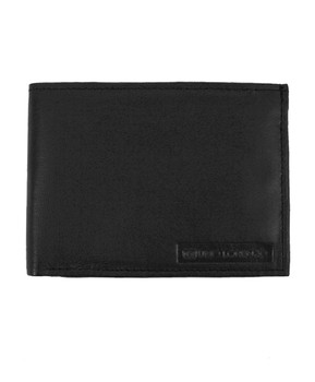 Genuine Leather Bi-Fold Wallet UL5A
